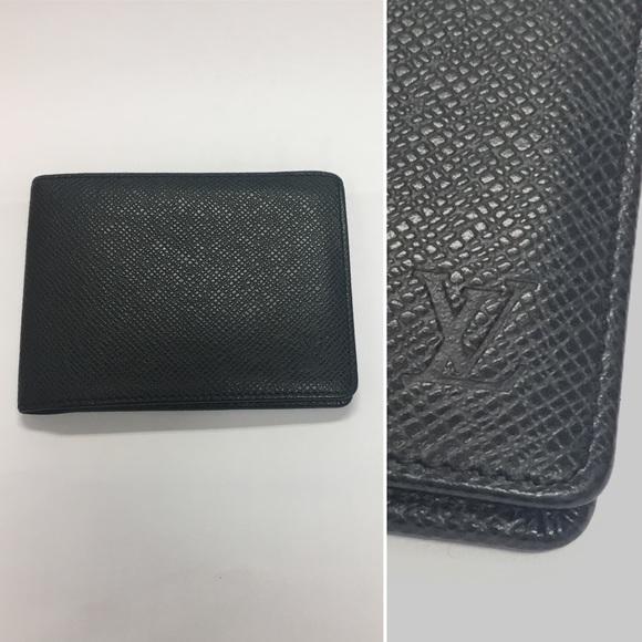 cdc8ebf4fdde Louis Vuitton Other - LOUIS VUITTON Men s Taiga Leather Multiple Wallet